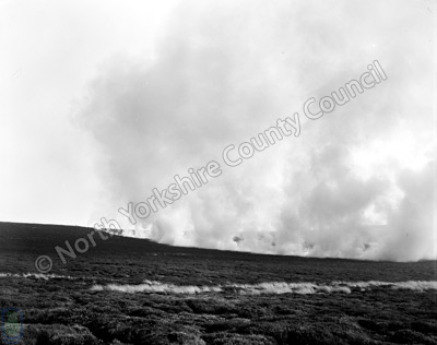 Moorland Fire, Dallowgill